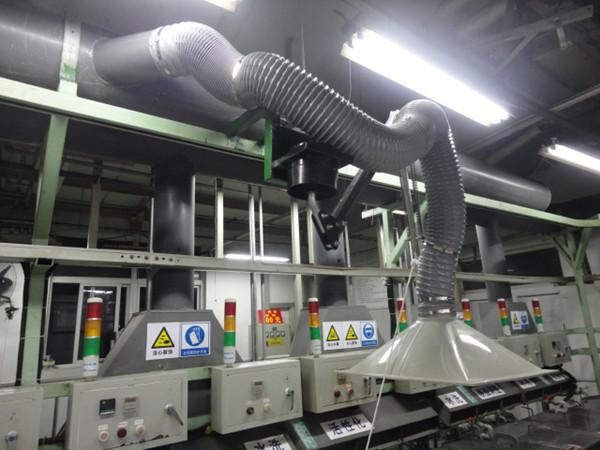化油器实验室废气处理工艺排气系统工程