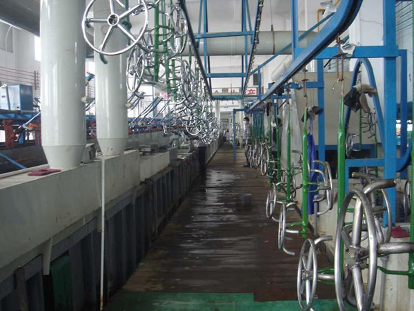 电镀厂废气处理