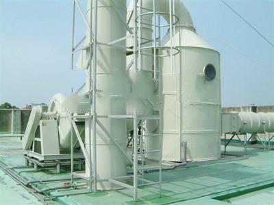 塑胶厂脱硫净化塔工程