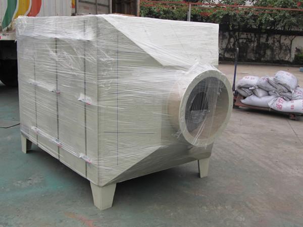 活性炭吸附塔应用在油漆厂有机废气处理方案的案例中