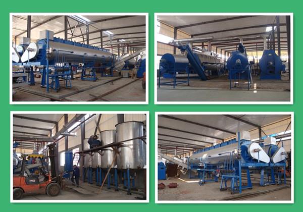 威海鱼粉厂有机废气处理