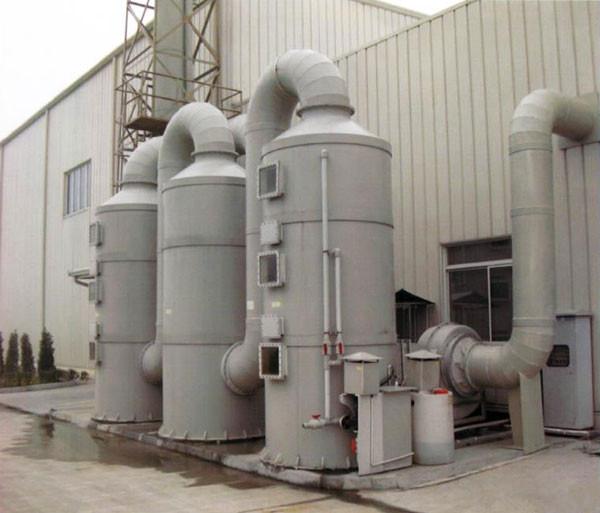 氮氧化物废气处理方法-酸碱吸收洗涤塔
