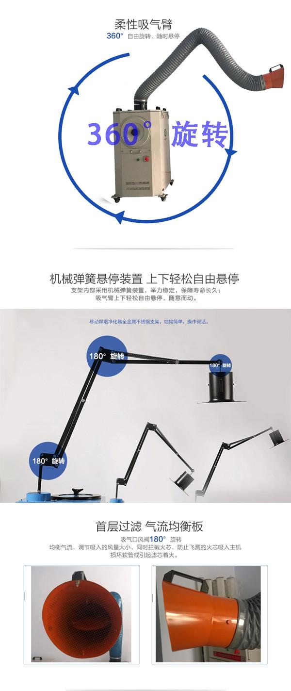 自动喷吹焊烟除尘器性能特点