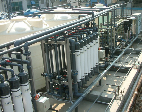 印染厂废气产生的现场相片