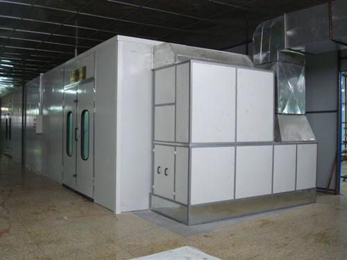 喷漆车间废气处理设备使用过程中