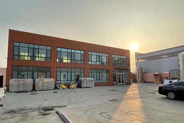 济南恒蓝环保公司办公楼