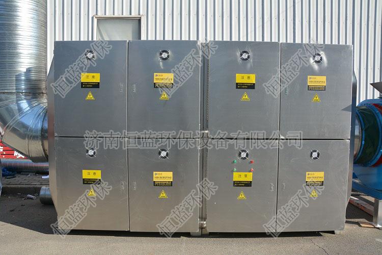 图为喷漆废气处理设备-光催化氧化废气处理设备