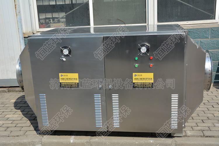大汉公司在喷漆车间安装了废气处理设备