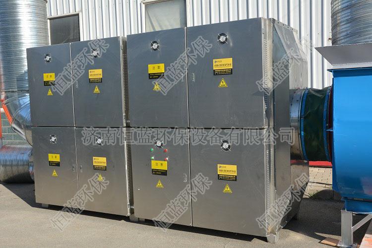 光氧催化技术应用于各个行业的现场图片