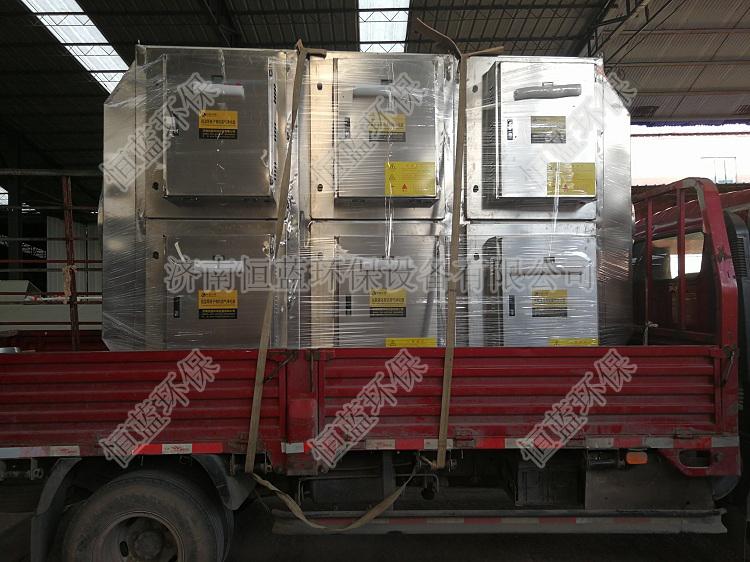 静电捕集废气处理装置的工作原理?