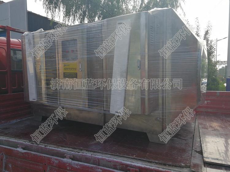 不锈钢低温等离子设备发往南京