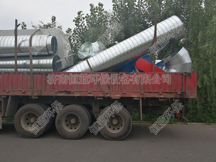 3万风量喷漆房废气处理设备发往邯郸