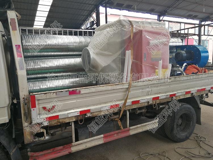 5000风量光氧催化设备发往临沂2