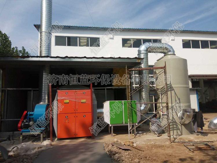 值得推荐的喷漆废气处理工艺流程