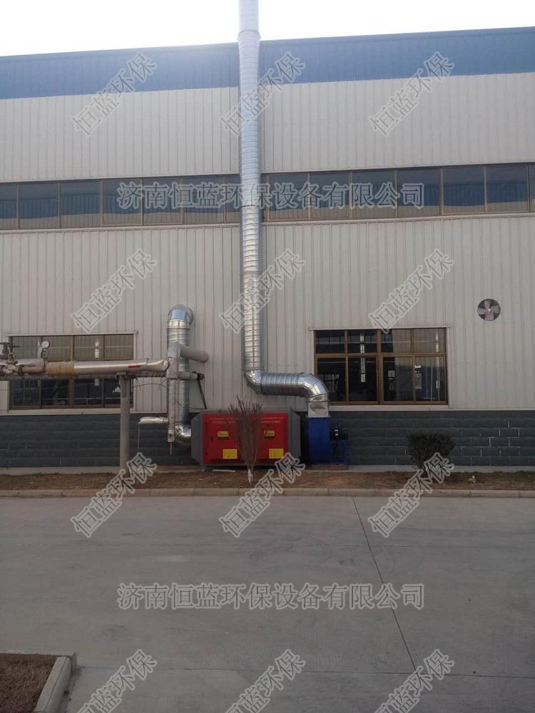 淄博实验室废气处理工程02