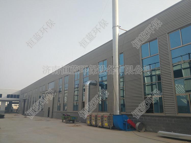 山东济南制药厂废气处理工程