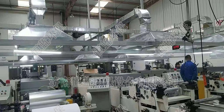 西安印刷厂废气处理工程03