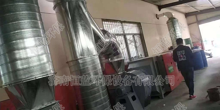 西安印刷厂废气处理工程05