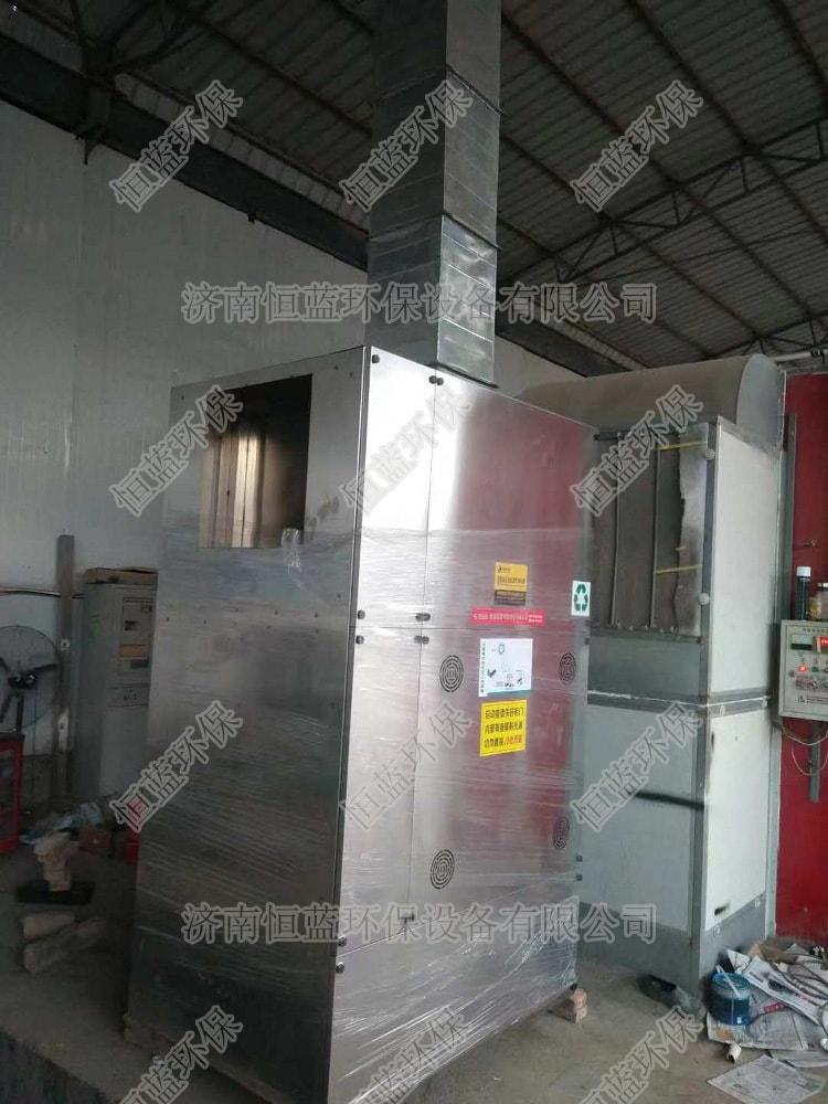 南昌汽修厂废气处理工程案例