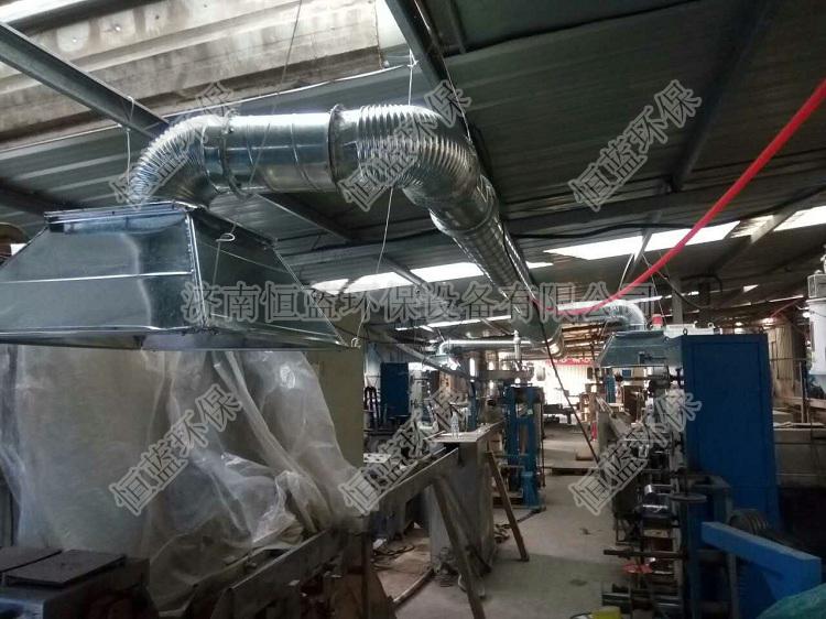 商河电缆线厂废气处理工程