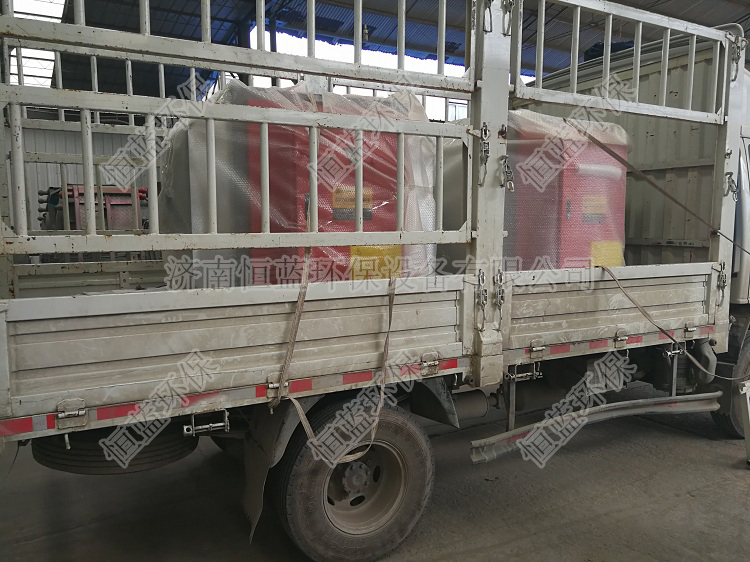 两台5000风量低温等离子设备发往潍坊02