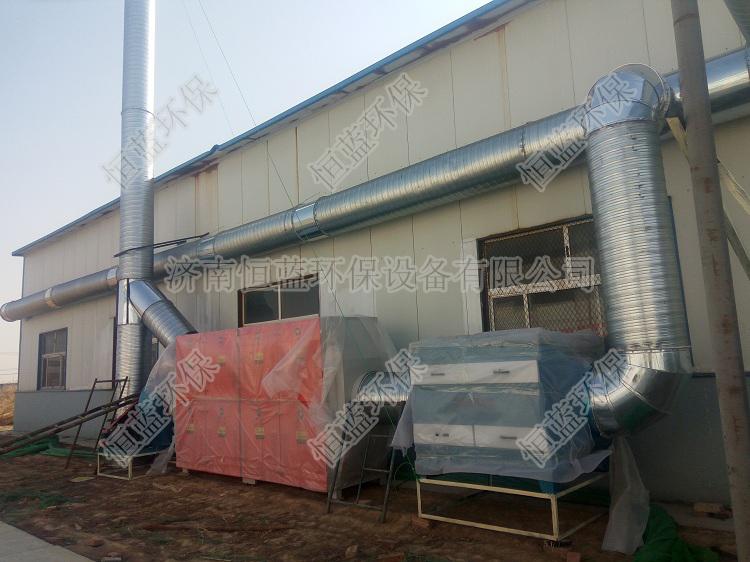 电子厂车间废气处理采用的方法