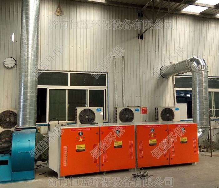 食品厂废气处理工程案例