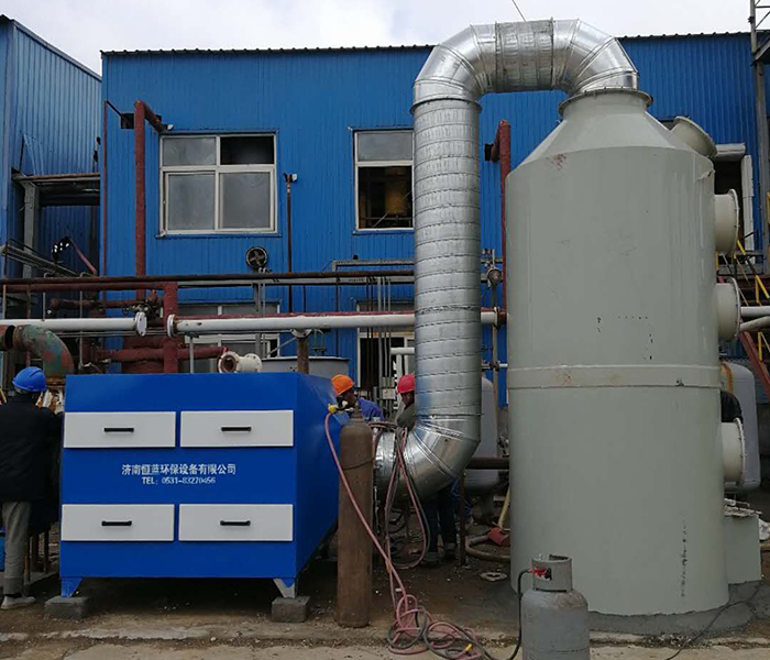 含有氯化氢的废气需要采用哪种处理方法?