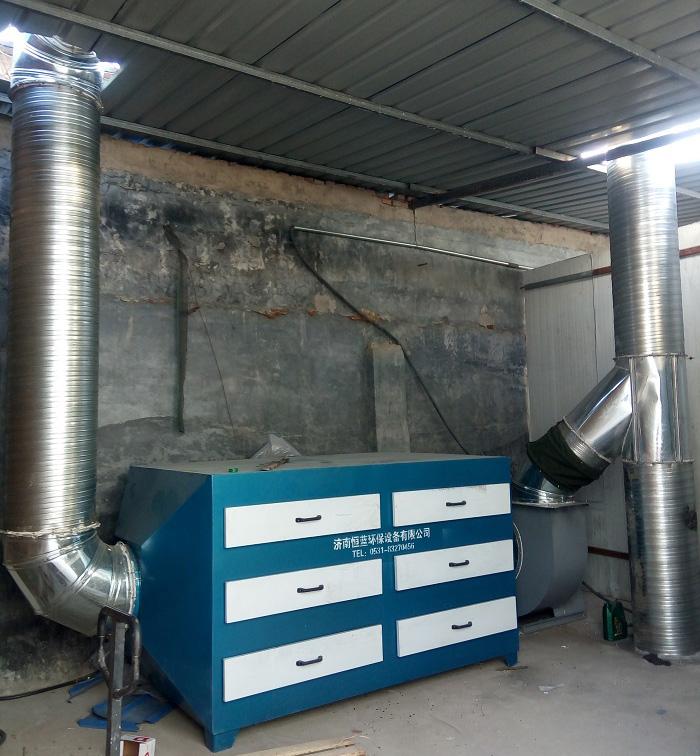 活性炭废气处理设备采用哪种活性炭比较好?