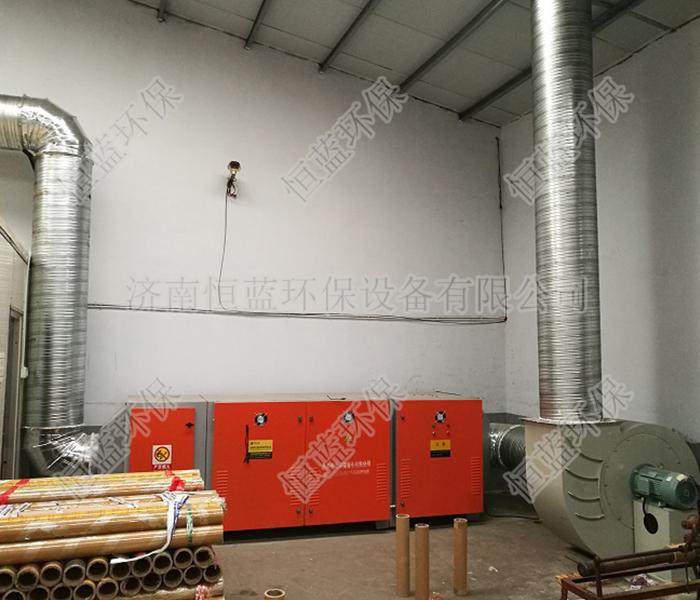 家具厂喷涂车间有机废气处理方法