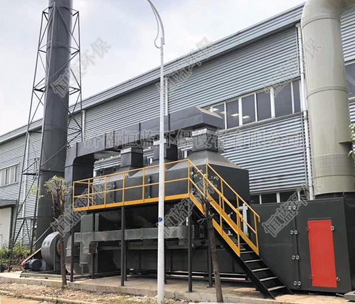 工业废气通常使用哪些处理流程进行净化