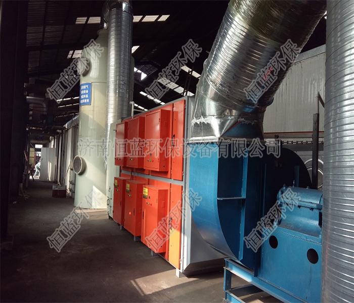 工厂专用有机废气处理成套设备