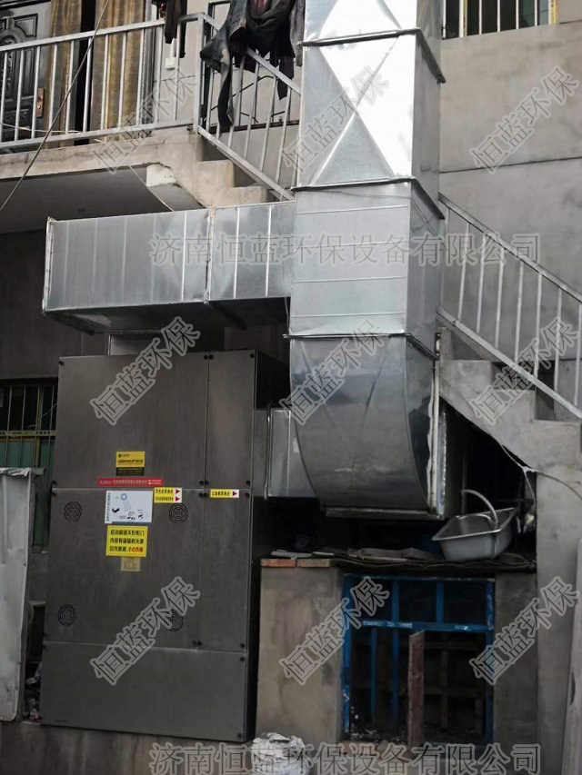 烤漆房安装环保设备实拍图01