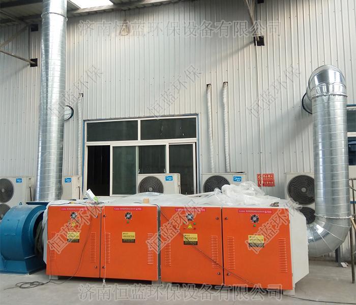 家具厂粉尘废气处理工程案例