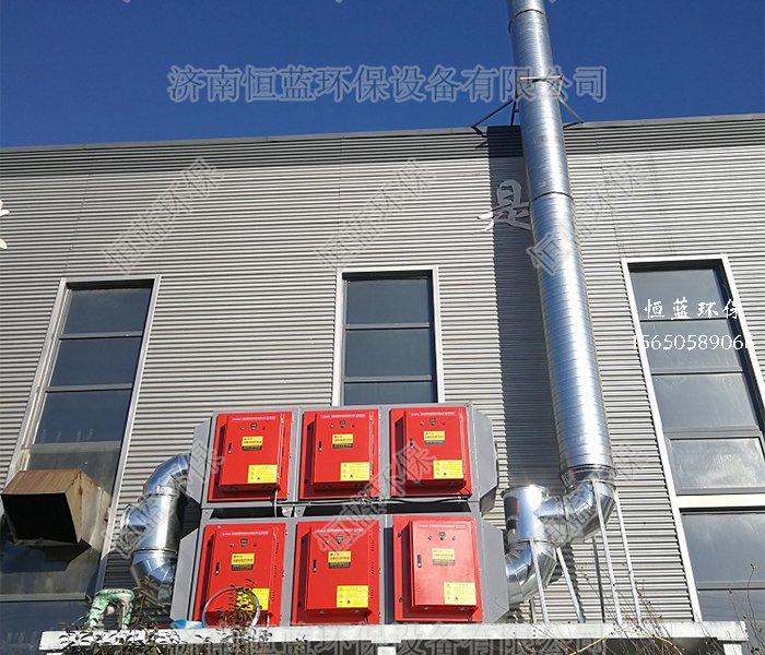 发泡板生产过程中的废气处理案例