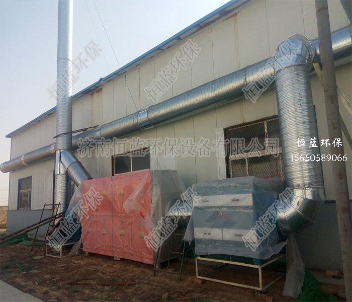 活性炭吸附设备工程案例