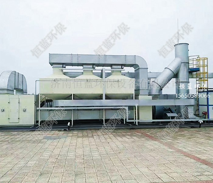 催化燃烧有机废气处理工程