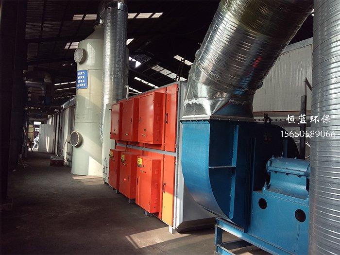 喷淋加光氧活性炭有机废气处理设备
