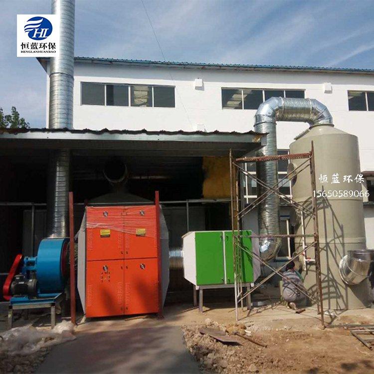 淄博喷漆房废气处理工程