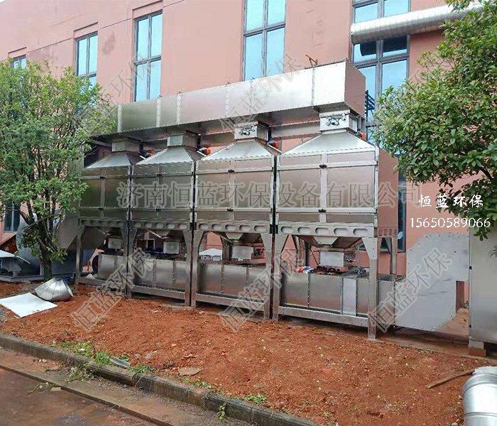 催化燃烧喷漆房废气处理方法