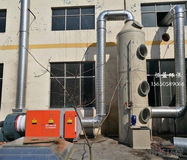 橡胶硫化废气处理方案应该这么做