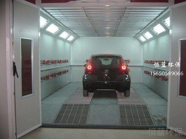 汽车烤漆房多少钱一台