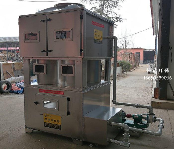 介绍了喷漆废气处理的性能比较和优点