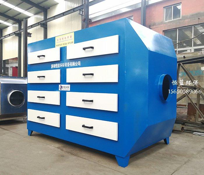 活性炭有机废气吸附箱的结构介绍