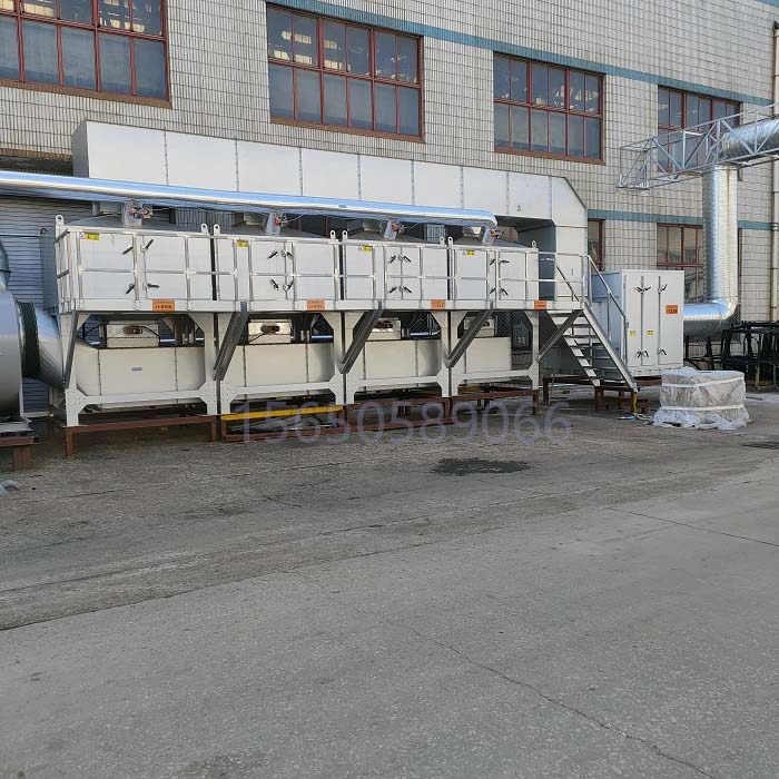 3万风量在线催化燃烧废气处理工程